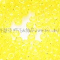1.5mm日本珠-透明檸檬黃色-5g