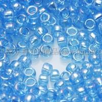 1.5mm日本珠-透明彩虹深天藍色-5g