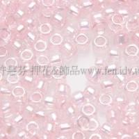 1.5mm日本珠-透明彩虹芭蕾粉紅色-5g