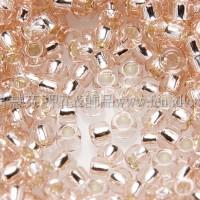 1.5mm日本珠-水蜜桃灌銀色-5g