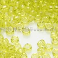 1.5mm日本珠-透明檸檬綠色-5g