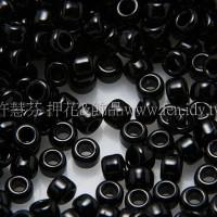 1.5mm日本珠-不透明黑色-5g