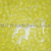 1.5mm日本珠-透明霧面檸檬綠色-5g