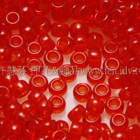 1.5mm日本珠-透明紅色-5g