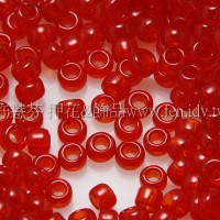 1.5mm日本珠-透明紅寶石色-5g