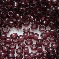 1.5mm日本珠-透明深紫紅色-5g