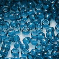 1.5mm日本珠-透明卡普里藍色-5g