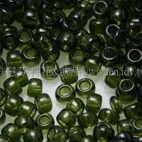 1.5mm日本珠-透明深黃綠橄欖色-5g