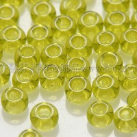 2mm日本珠透明-嫩綠色--10g