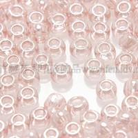2mm日本珠透明-珠光膚粉紅色--10g