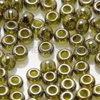 2mm日本珠半透明-銀灰鑽石色--5g