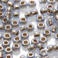 2mm日本珠透明-灰鑽石色--10g