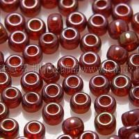 2mm日本珠半透明-七彩紅葡萄色--5g