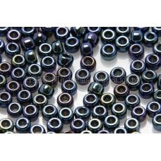 2mm日本珠金屬光-紫藍綠混色--10g