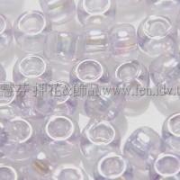 3mm日本珠珠光透明粉紫色--10g