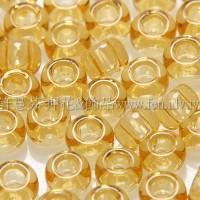3mm日本珠透明蜂蜜黃色--10g