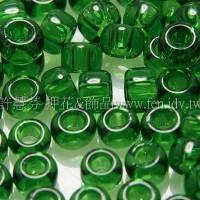 3mm日本珠透明薄荷綠色--10g