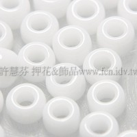 3mm日本珠雪白色--10g