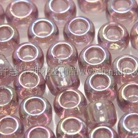 3mm日本珠珠光透明薰衣草紫色--10g