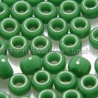 3mm日本珠不透明松石綠色--10g
