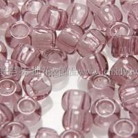 3mm日本珠透明淺葡萄色--10g
