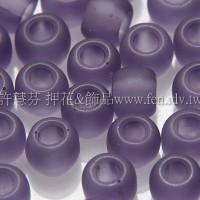4mm日本珠-霧面柔光三色堇紫色-10g