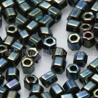 2mm短管日本珠金屬愛麗絲紫色10g