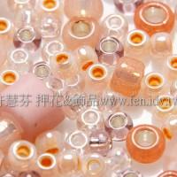 繽紛珠寶盒-膚粉色系混合珠--10g