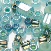 繽紛珠寶盒-松石綠色系混合珠--10g