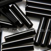 9mm日本長管珠-黑色10g