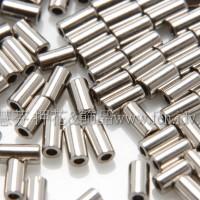 3mm短圓管日本珠金屬光銀色-10g