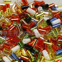 3mm短圓管日本珠金鉑水果樂園色系-10g