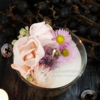 花草植物香氛蠟燭課程
