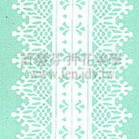 雷射紙蕾絲進口貼紙(MerciMucha)2