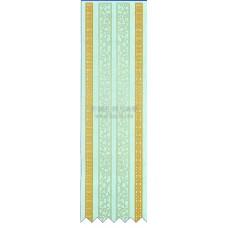 雷射紙蕾絲進口貼紙(MerciMucha)7