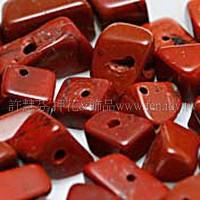 909 紅磚石碎石-不規則形-  3*6mm -10g