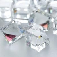 方立體切角水晶珠-貼面-8mm-2個