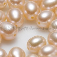 淡水珍珠膚5*6mm -8個