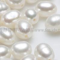 淡水珍珠白5*7mm-8個