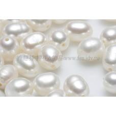淡水珍珠白 4*6mm-8個