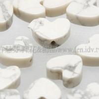 心形白紋石6mm-10個