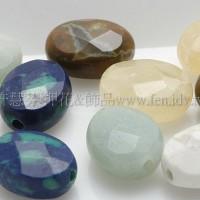 蛋形綜合石-7色-10*4mm-1個