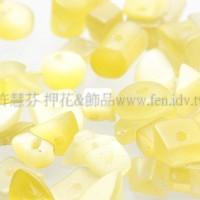 9268黃貓眼碎石4.5~10mm-10g