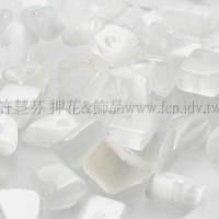 9272白貓眼碎石4.5~10mm-10g