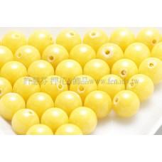 9284彩雲石-黃色-6mm-10個