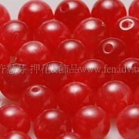 9301彩雲石-紅色-6mm-10個