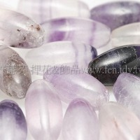 9348紫瑩石12*6mm-2個