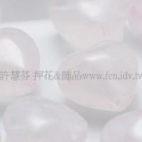 9920粉晶心形10*10mm-4個